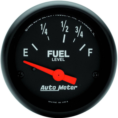 Gauge, Z-Series, Fuel Level, 2 1/16 in., 73-10 Ohms, Electrical, Analog, Each