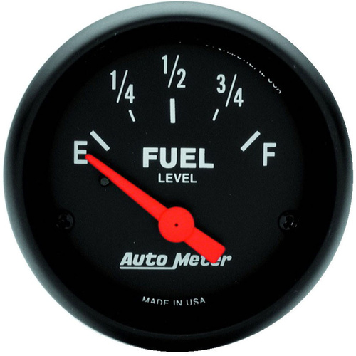 Gauge, Z-Series, Fuel Level, 2 1/16 in., 0-30 Ohms, Electrical, Analog, Each