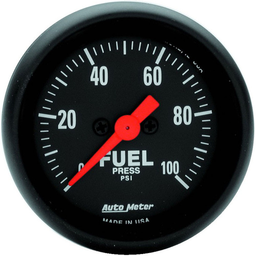 Gauge, Z-Series, Fuel Pressure, 2 1/16 in., 100psi, Digital Stepper Motor, Analog, Each