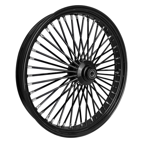 "Wheel , Rear Maxspoke Black/Black Harley-Davidson®,18x5.5"", 3/4""axle"