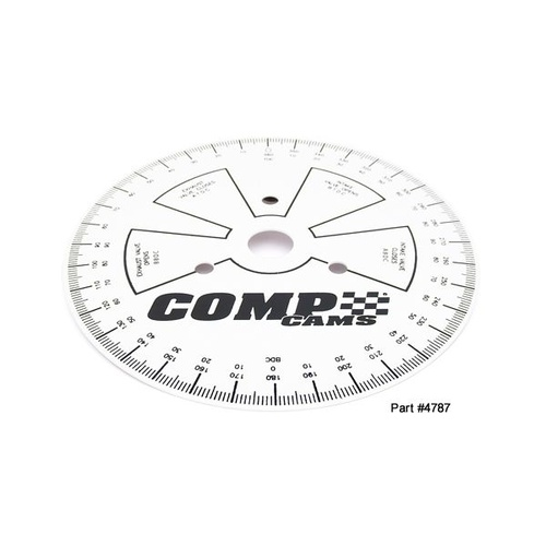 Sportsman Camshaft Degree Wheel, 7.5 in. Diameter, Each