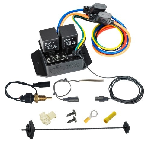 "Digital Thermatic® Fan Switch With 1/4"" Npt Thermal Sensor Kit"