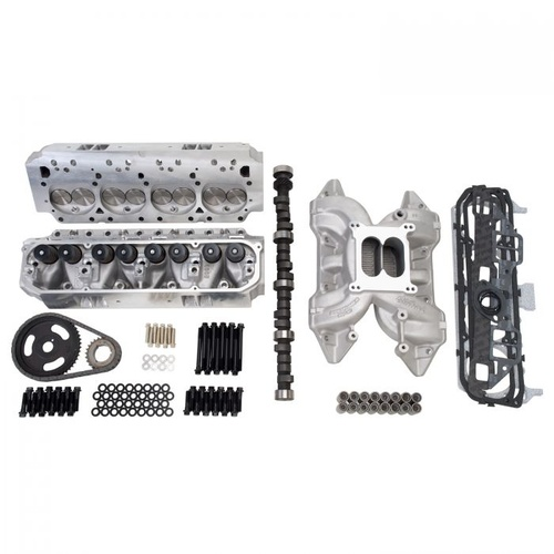 Top End Engine Kit, Power Package, Intake, Heads, Cam, Timing Chain, Head Bolts, 383 Chrysler, 421HP, Kit