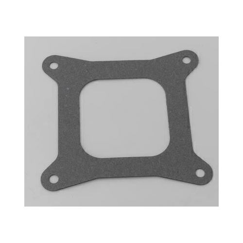 Carburetor Mounting Gasket, Composite, 4-Barrel, Square Bore, Open Center, .063 in. Thick, Each