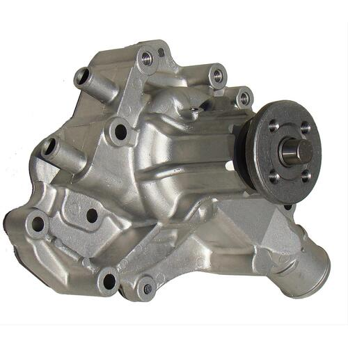 Water Pump, Mechanical, High-Volume, 1970-1987, Ford, 302/351W, Driver Side Inlet, Aluminum, Each