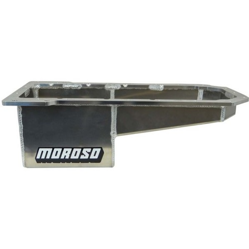 Oil Pan, Aluminium, Wet Sump, 10 Qt., Mopar 5.7, 6.1, 6.4 Rear, Each