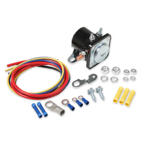 Hot Start Kit includes Solenoid, Wiring, Hardware