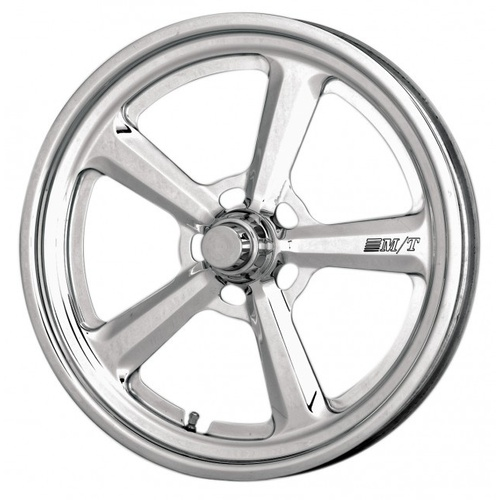 Wheel Pro-5 Drag Aluminium Polished 15 in. x 3.5 in. Strange Spindle 1.75 in. Backspace Each