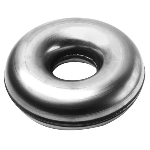 Tube, Air /Exhaust Stainless Steel Full Donut 3.5in. (88mm) 1.5mm Wall