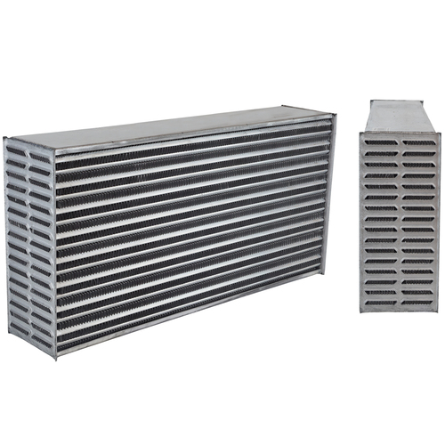Intercooler Aluminium Natural, Universal Core Only 600 x 300 x 125mm
