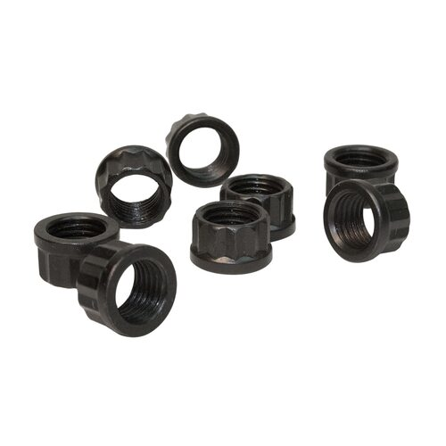 Adjuster Lock Nut, Valve Lash, 7/ 16 in.-20, 1/ 2 in. Socket, .603 in. Flange OD, Type 1 Vlln, 12Pt Nut, Set of 128