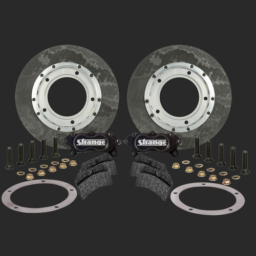 11.5 in. Carbon Brake Kit For Chrisman L/A (Hubs Must Be Modified)