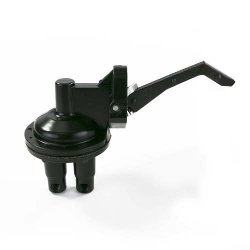 Fuel Pump, Mechanical, Chrysler Sb 273-360, V8 Engine, 2 Valve, 80 Gph, 6 Psi, 1/4in. Inlet/Outlet, Black