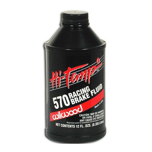 BRAKE FLUID, HI-TEMP 570, 12oz.